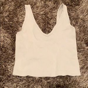 Free people white seamless top small